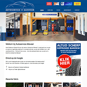 website autoservice alteveer